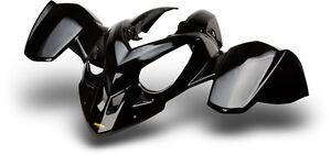 NEW POLARIS PREDATOR 500 BLACK FRONT FENDER PLASTIC PLASTICS
