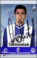 Fussball Autogramm Kostas Konstantinidis Hertha BSC Football Socce Autograph
