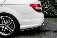 Mercedes Benz 2012~on W204 C-Class C63 AMG Sport Carbon REAR SIDE SKIRT VACUUM
