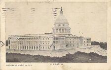 POSTCARD UNITED STATES OF AMERICA USA WASHINGTON U.S CAPITOL