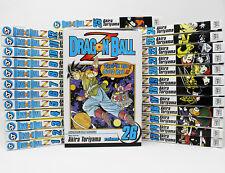 Dragon Ball Z MANGA Series Set of Books 1-26 by Akira Toriyama
