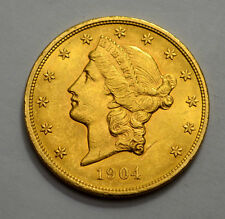 SUPERB 1904-P  Liberty Head  $20 Twenty Dollar Gold US Coin