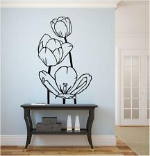 Flowers, Tulips,Tulip  Vinyl Wall Art Decal