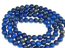 Lapis Lazuli 4mm 1 Stang Perlen Kugeln rund blau