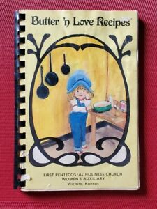 Wichita, Kansas FIRST PENTECOSTAL HOLINESS CHURCH Vintage COOKBOOK Recipes Comb