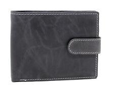 Topsum London RFID BLOCKING Mens Coin Pocket Premium Real Leather Wallet #4019