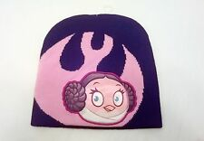 Angry Birds Star Wars Princess Leia Winter Stocking Hat NEW One Size Fits Most