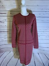 Red Worth New York Dress Suit (Separates) Size M