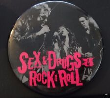 SEX & DRUGS & ROCK & ROLL - FX PINBACK SDCC COMIC CON DENNIS LEARY