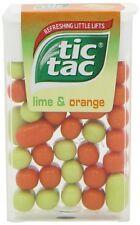 Tic Tac Lime Orange 18 g (Pack of 4)