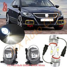 LED Fog Lights Bumper Driving Lamps 2x k For Volkswagen CC/AUDI A1 A4 A5 A6 Q3