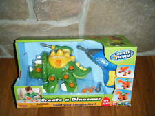 BUILD CREATE A DINOSAUR TRICERATOPS POWER DRILL BATTERIES INCLUDED MIB RARE NEW!