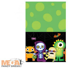 Boo Crew Monster Plastic Table Cover Halloween Childs Party Tableware Decoration