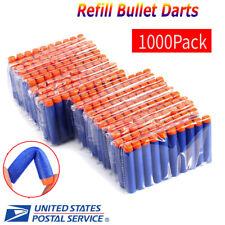 1000pcs Soft Foam Refill Bullet Darts Gun For Blasters KIDS Toy Fun Gift
