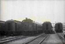 PRR Pennsylvania Railroad Doodle Bug - Vintage Negative