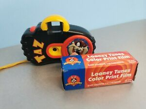 Looney Tunes Taz Camera vintage with a box of Looney Tunes film