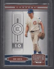 2005 Donruss Signature Series Century Insert Ron Santo Chicago Cubs HOF SP 37/75