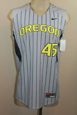 Nwot Nike Team Univ of Oregon Ducks Gray #45 Basketball Jersey Sz Large (277)