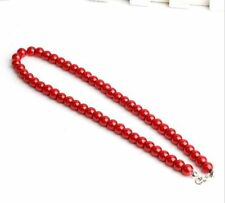 Fashion pearl necklace accessories glass pearl necklace DIY necklace jewelry hot