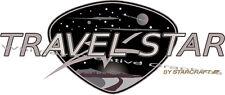 TRAVEL STAR 2  by Starcraft RV LOGO decal Travel Trailer Graphic Made Fresh!