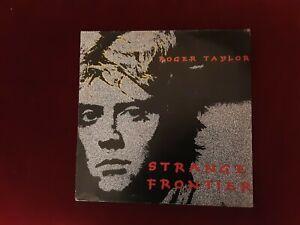 Roger taylor strange frontier album emi ej2401371 vg condition 1984