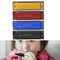 Bee Mouth Harmonica Organ 10 Holes 40 Tone C Key Instrument Musical Kids Toy