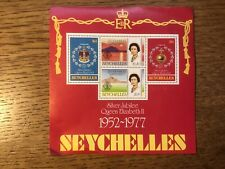 Seychelles 1977 Mini Sheet Silver Jubilee Stamps