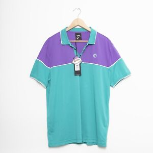 BNWT Mens IJP Design Eagle Golf Shirt Polo Golfing Scotch Guard Size Large