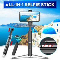 6 IN1 Universal bluetooth Selfie Stick Tripod Monopod Remote Control iOS Android