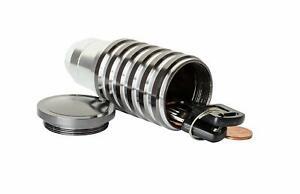 Gear Shift Knob With Secret Stash Compartment-Hide Valuables!! (Aluminum)