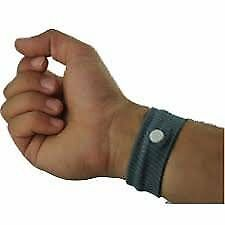 BOOLAVARD Wrist Band 2Pcs Travel Motion Morning Sickness Plane Cotton Reusable