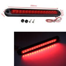 Waterproof Car Truck Ultra-slim Tail LED Stop Brake Light Bar Strip Signal Lamp