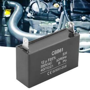 350VAC Kondensatoren Kondensator CBB61 für Benzin Generator Klimaanlage 12UF