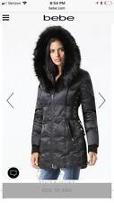 BEBE LACE UP PUFFER COAT Size Medium