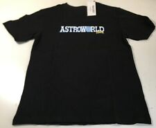 "Travis Scott 2019 Astroworld Concert Tour ""Wish."" Black, Small Shirt Nagri Nwt!"