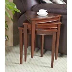 Leick Furniture Shield Stacking Table Set 9001