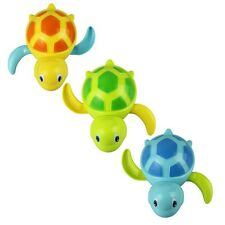12CM Sassy Baby Bath Play Water Inspire Imagination Turtle Tortoise Float Toy US