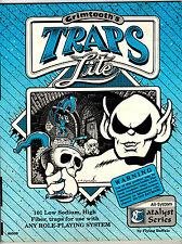 Grimtooth's Traps Lite Game Master's Aid for All Systems (1992, Flying Buffalo)
