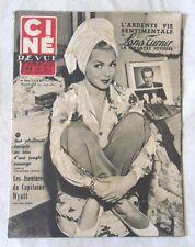 CINE-REVUE 1 aout 1952 LANA TURNER MARILYN MONROE LANA TURNER Gary COOPER