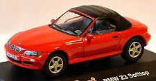 BMW Z3 Roadster Cappotta 1995-99 Rosso Red 1:72 Schuco