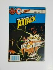 """Attack #44 (1984, Charlton) OUR FIGHTING FORCES IN ACTION! """"D-Day"""" Issue"""