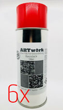 Sixpack Basislack Silber 400ml Spraydose auch für WTD Wassertransferdruck
