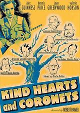 Kind Hearts And Coronets Dvd | Alec Guinness | Dennis Price | Crime | Ships 9/3