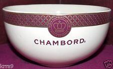 Chambord Black Raspberry Liqueur Ice Cream Bowl ~ Royale De France ~ NEW ~