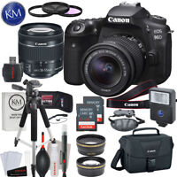 Canon EOS 90D DSLR Camera w/ 18-55mm Lens with Deluxe Striker Bundle