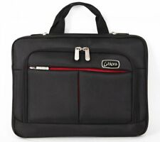 10.2 Inch Netbook Messenger Bag for Tablet, iPad, DVD Player in Black and Red