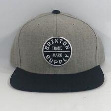 a998d4d71c1 ... shopping nwt brixton supply trade mark cap hat adjustable oath iii  snapback grey black os 491ef