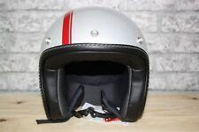 Moto Guzzi Roamer Silver Motorcycle Helmet SIZE MEDIUM