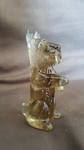 Boyd Crystal Art Glass - Mac, the Begging Scottie in #8 Honeymoon