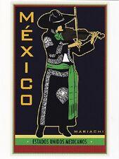 """+PC-Postcard-""""El Mariachi"""" -MEXICO- .../Estados Unidos Mexicanos/  (B345)"""